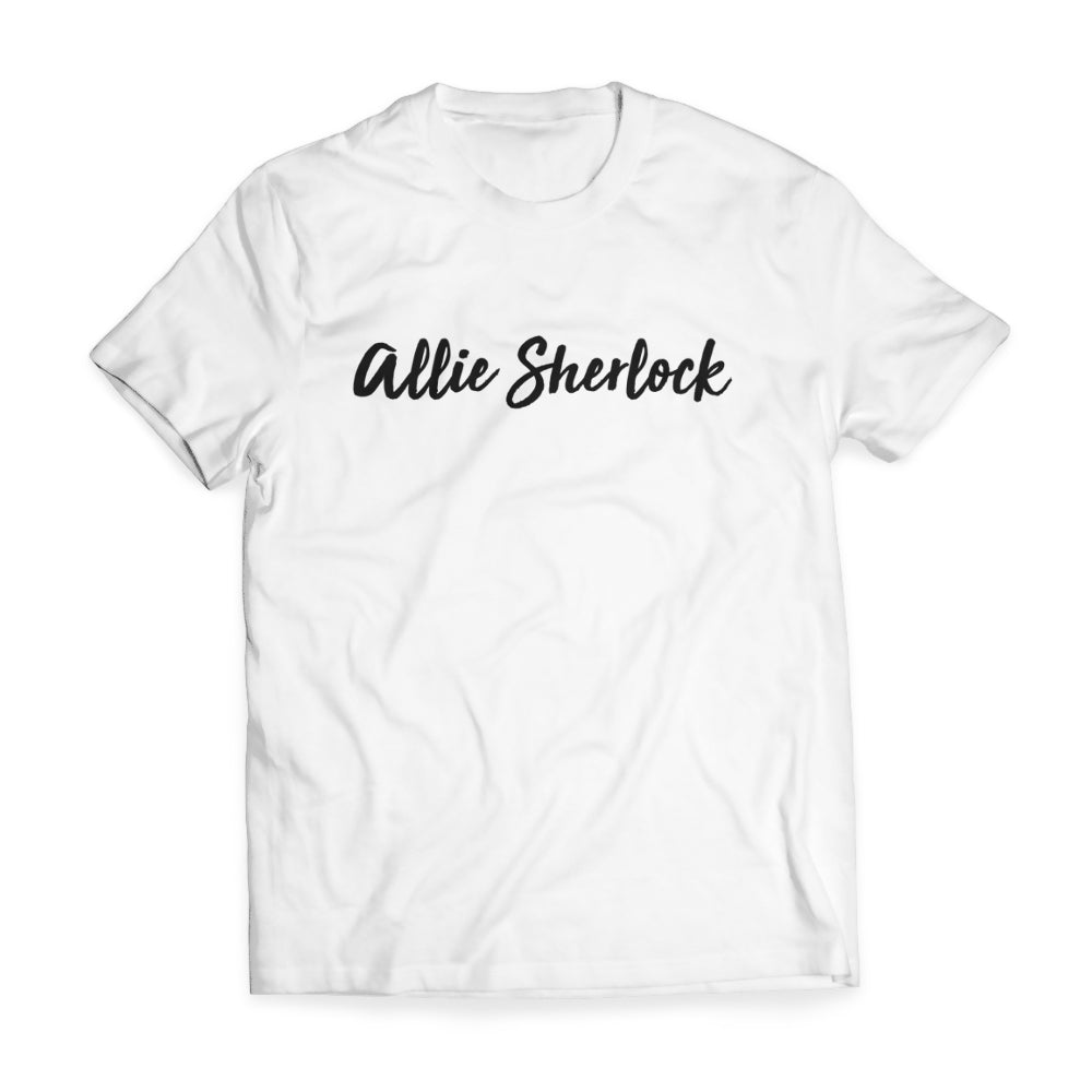 Allie Sherlock Signature T-shirt