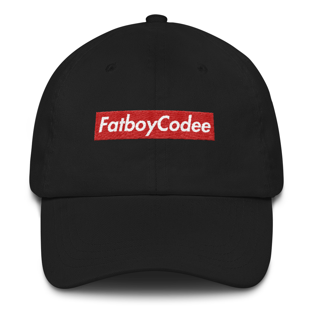 Codee Yount Box Logo Dad Hat