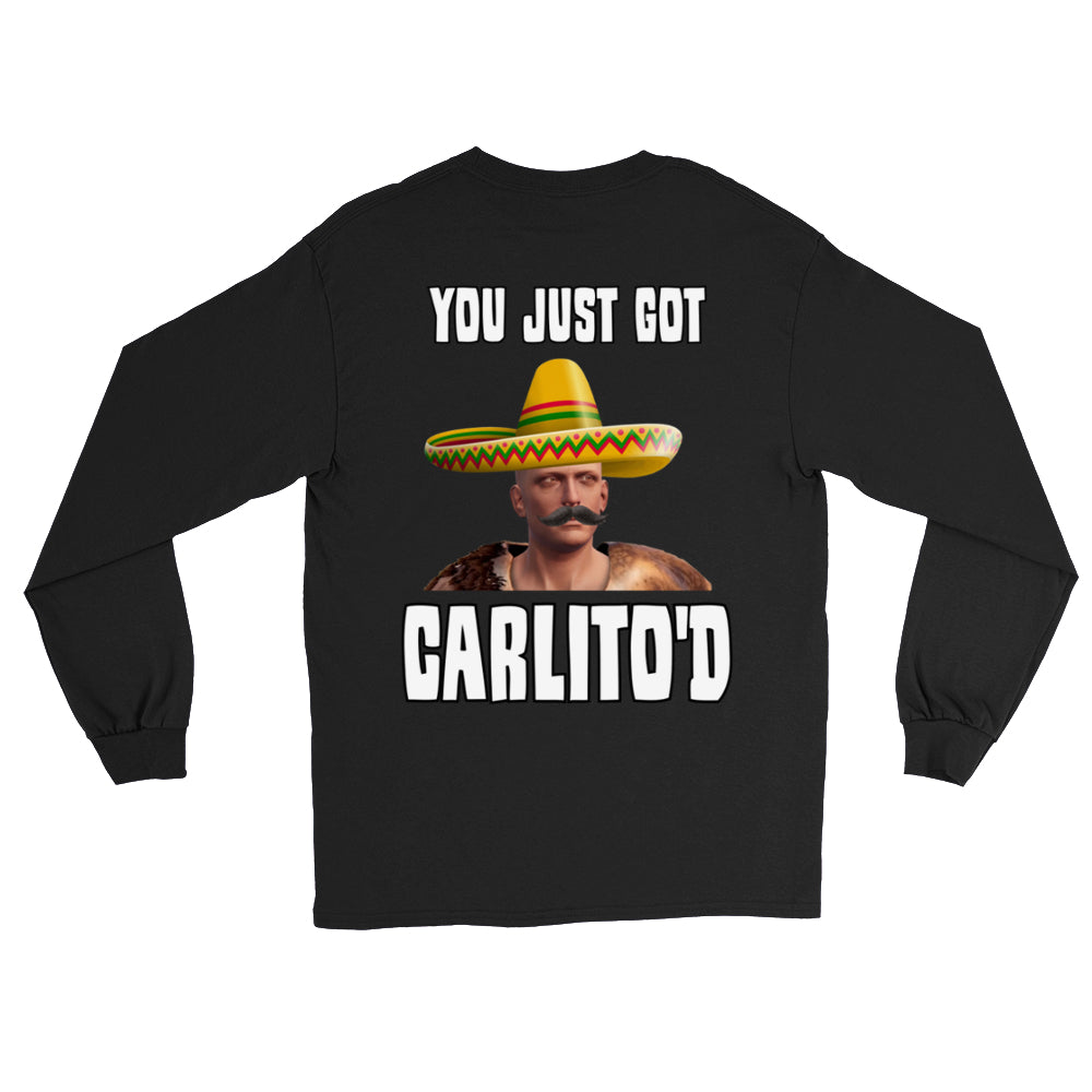 Faceless CARLITO'D Long Sleeve Shirts (Back Print Only)