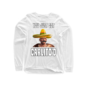 Faceless CARLITO'D Long Sleeve Shirts (Front Print Only)
