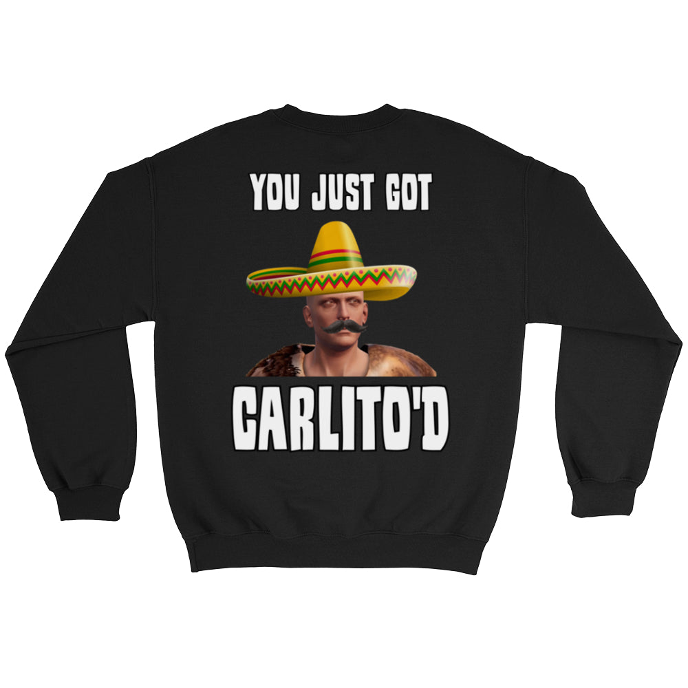 Faceless CARLITO'D Crew Sweatshirts (Back Print Only)
