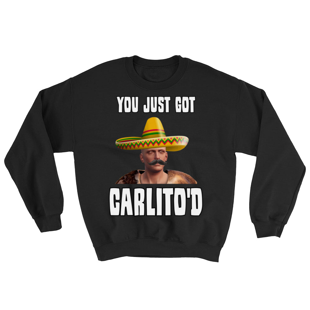Faceless CARLITO'D Crew Sweatshirts (Front Print Only)