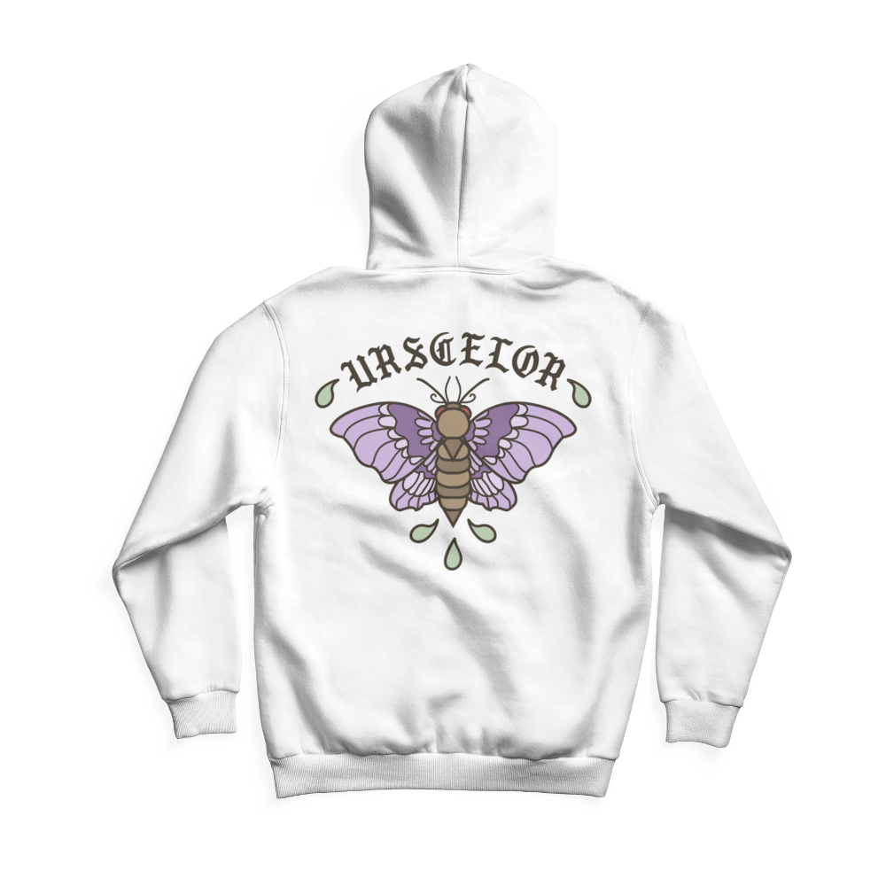Faceless Urscelor Colour Hoodie (Pocket Print)