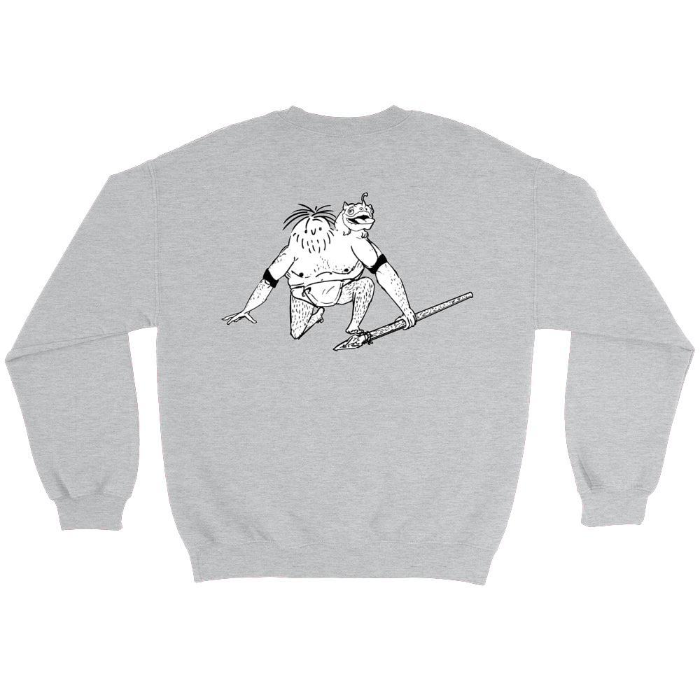 Faceless Mutt Senior Crew Sweatshirts