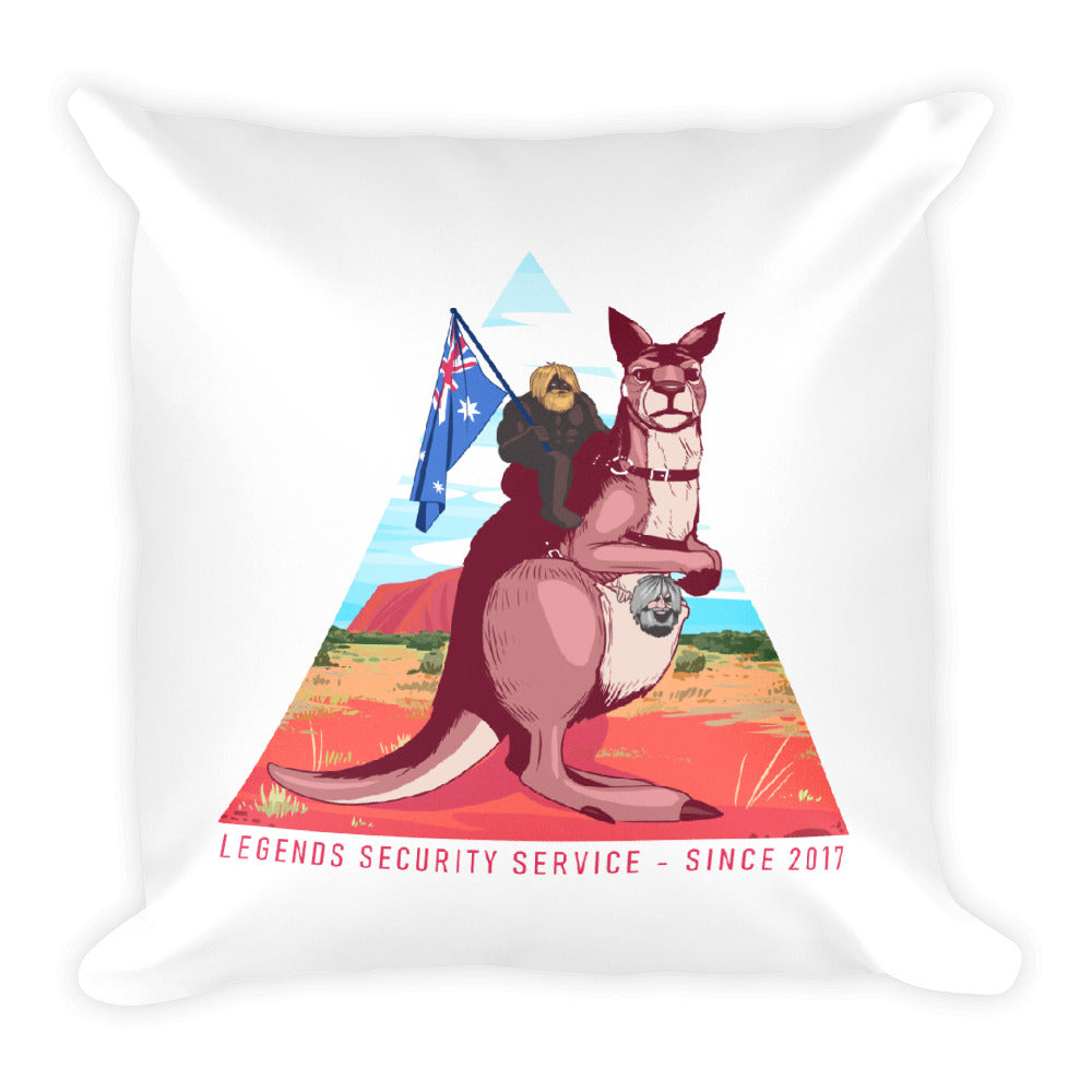 Faceless LSS 2017 Pillow
