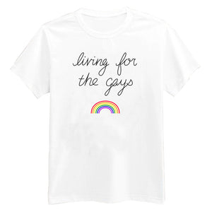 Kahlen Barry Living For The Gays Shirt