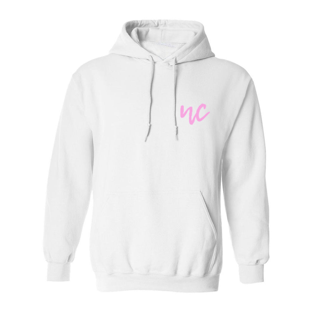 Natalie Coppes Initial Hoodie (White)