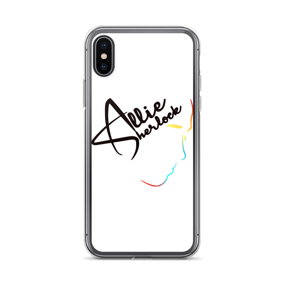 Allie Sherlock Rainbow Phone Case