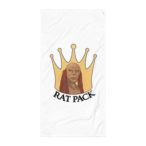 Faceless Rat Pack Beach Towel