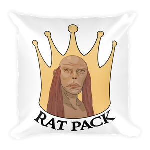 Faceless Rat Pack Pillow