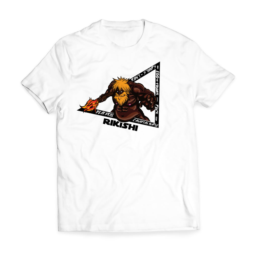 Faceless Rikishi Shirts (Front Print Only)