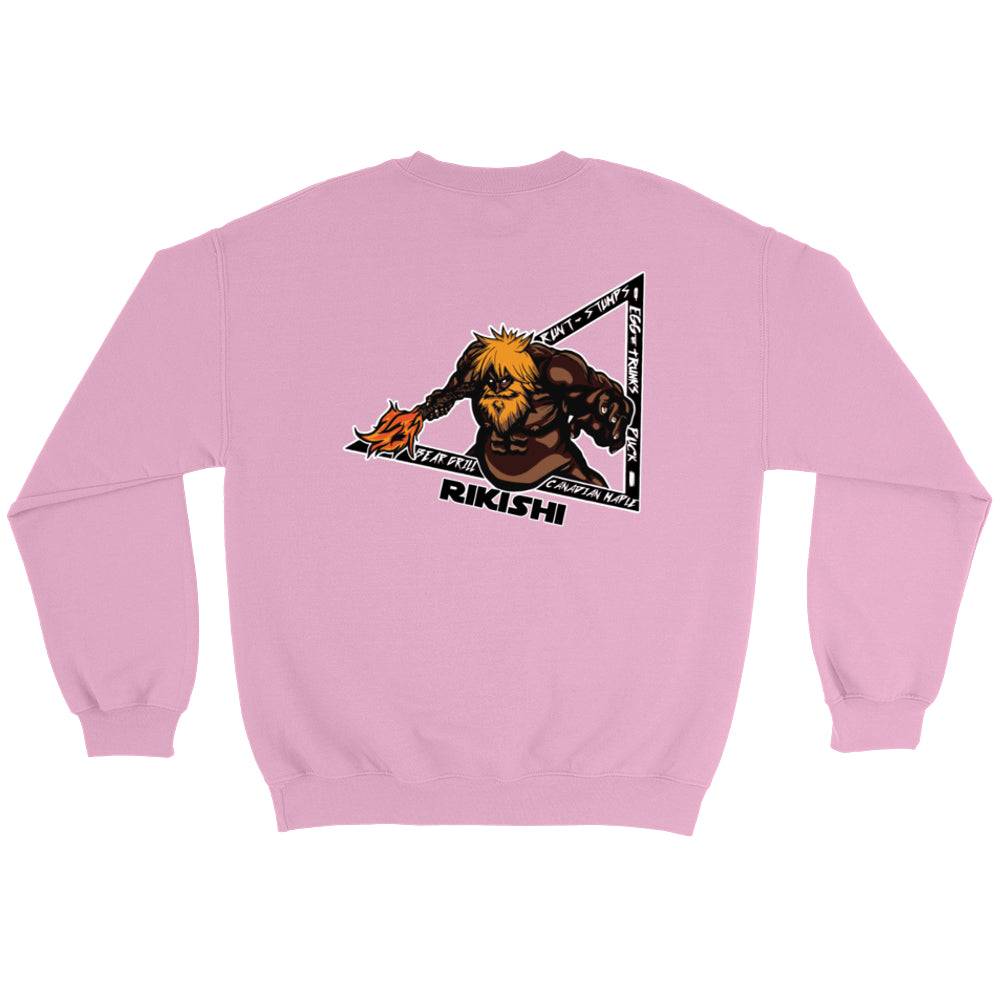 Faceless Rikishi Crew Sweatshirts