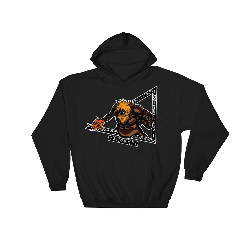 Faceless Rikishi Hoodies