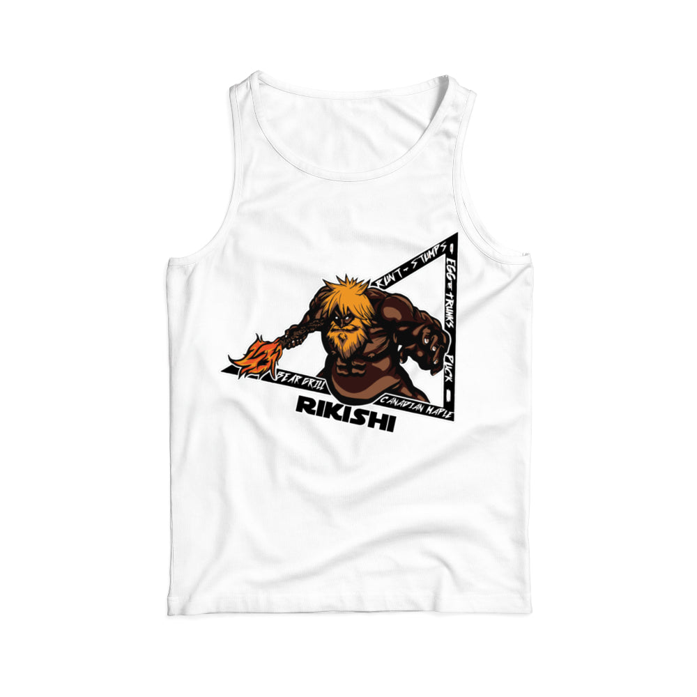 Faceless Rikishi Tank Tops (Back Print Only)