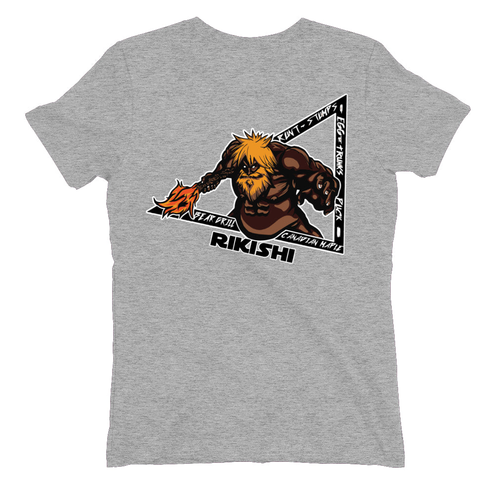 Faceless Rikishi Women's Shirts (Back Print Only)
