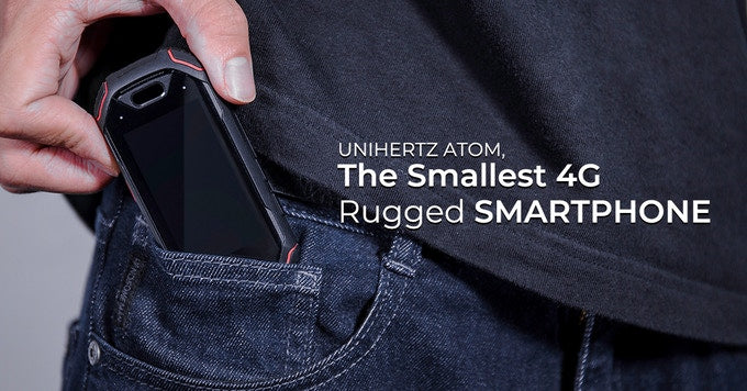 Unihertz Atom is the world's smallest smartphone designed for outdoors