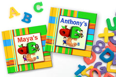 pandemic gifts for kids personalized children's abc book