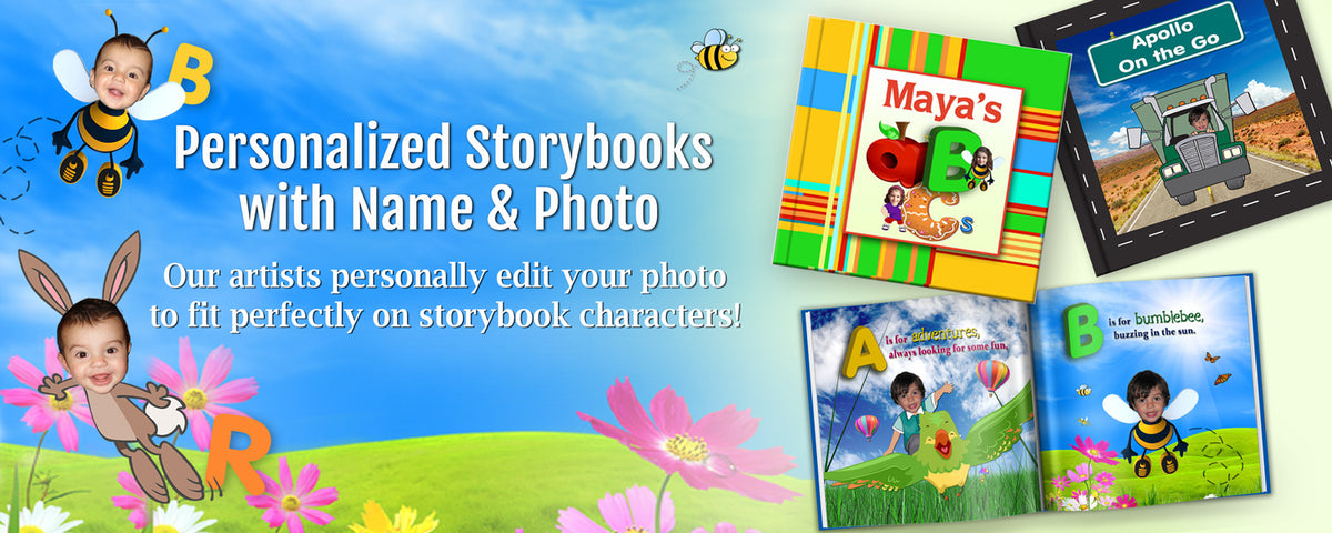 personalized children's book with photo and name