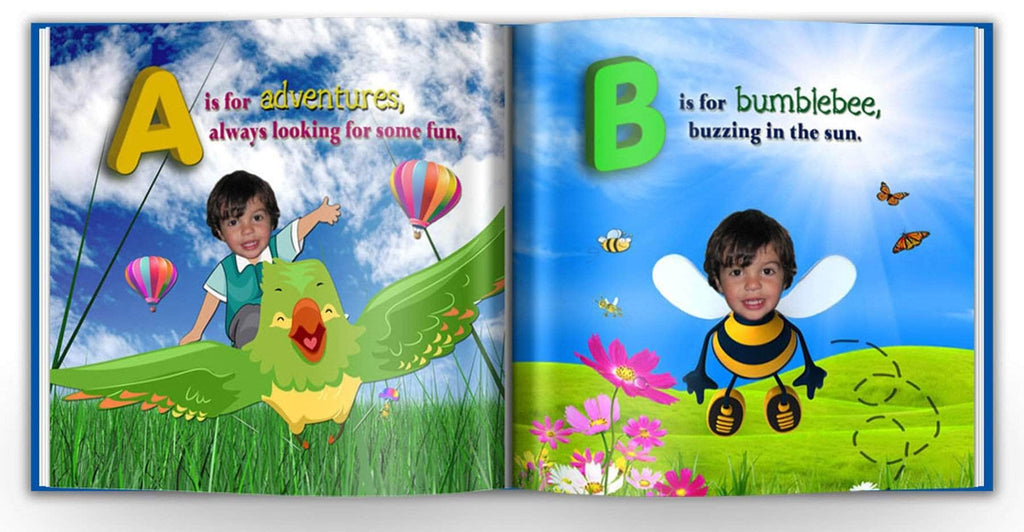 Personalized childrens abc storybook preview 1