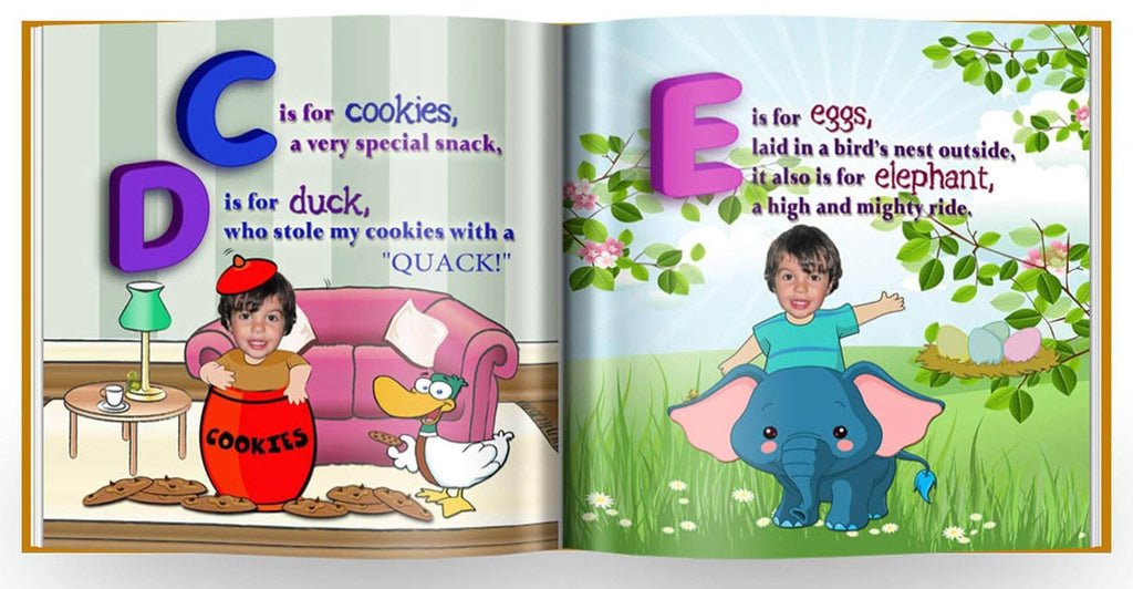 Personalized abc storybook preview 2
