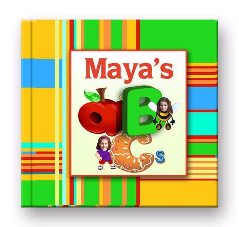 Personalized abc story book for girls