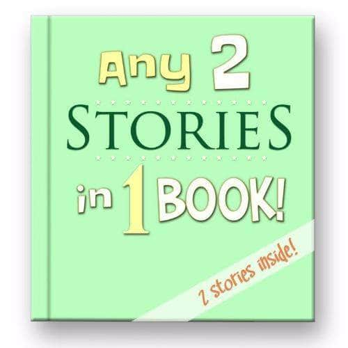 2 stories in 1 Add ons My Custom Kids Books