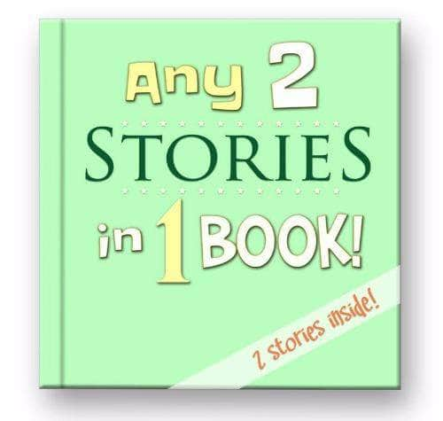 personalized childrens books 2 stories in 1