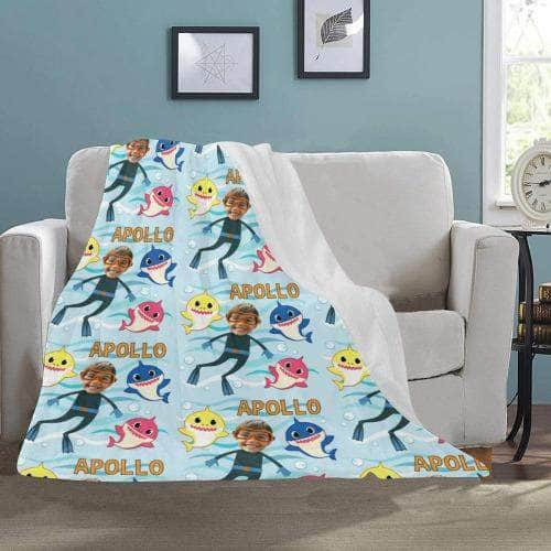 baby shark blanket for kids