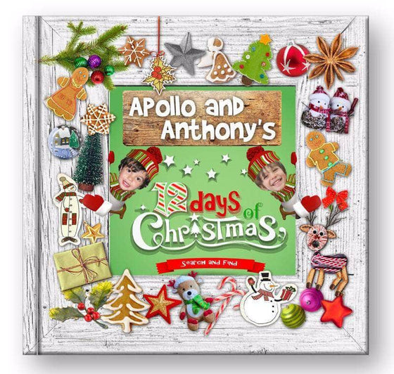 personalized christmas book for 2 kids