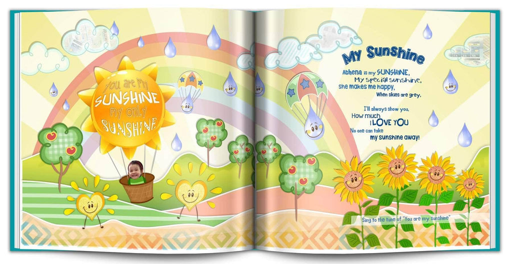 Personalized Nursery Rhyme Book preview 1