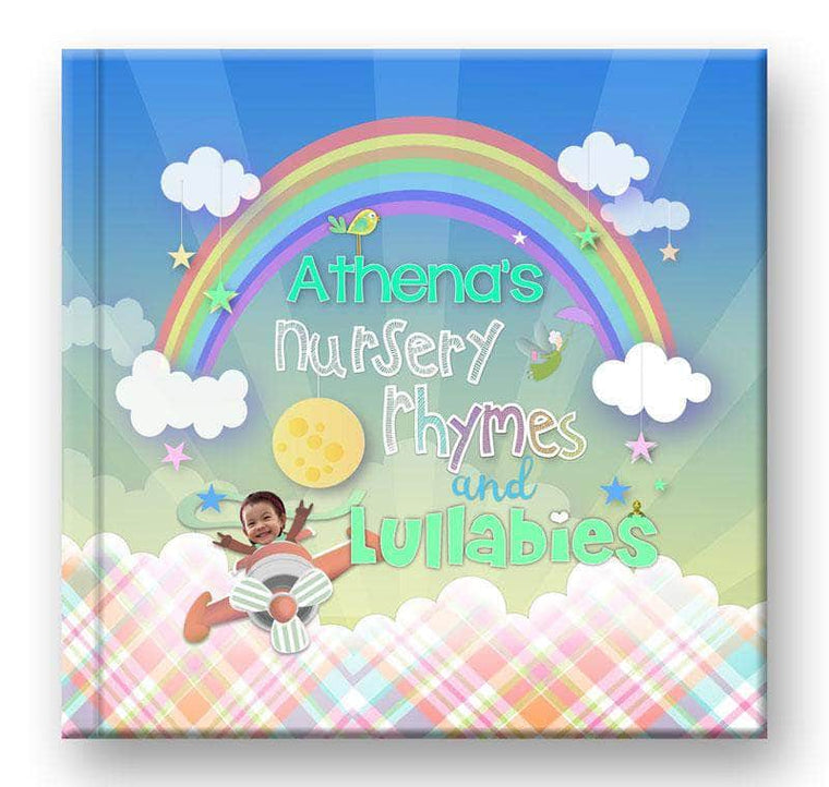 Personalized Nursery Rhyme Book cover