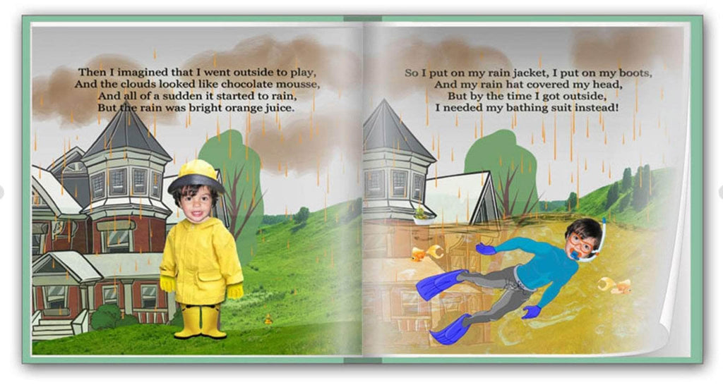 personalized children's adventure book preview 4