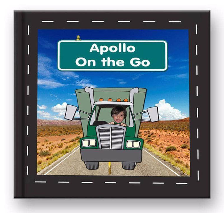 personalized story book for boys trucks and more