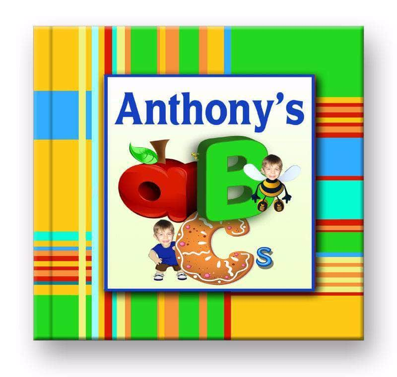 Personalized abc story book for boys