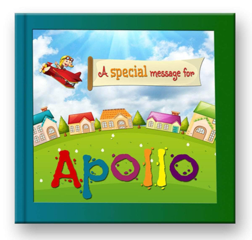 personalized name book for kids boys cover