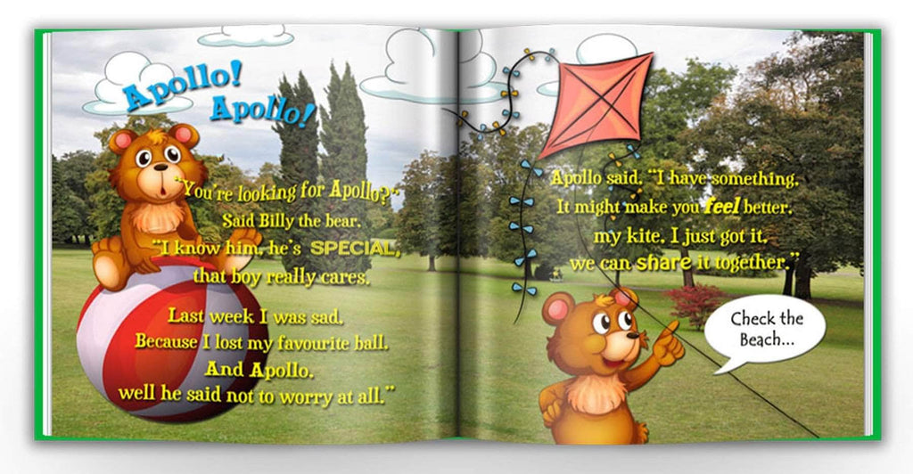 personalized name book for kids confidence