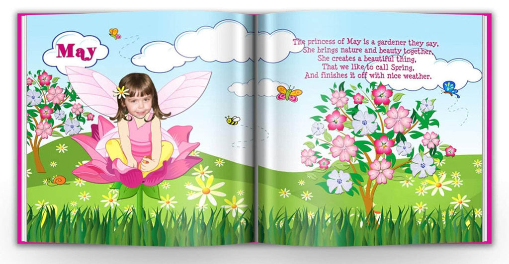 personalized princess book for girls flower fairy