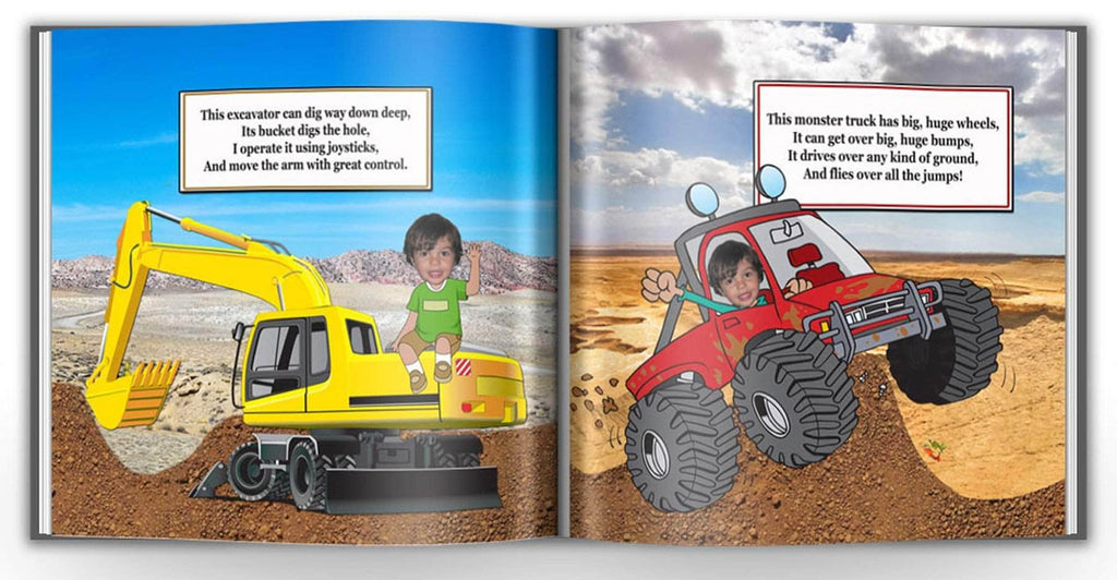 personalized story book for boys with photo an name