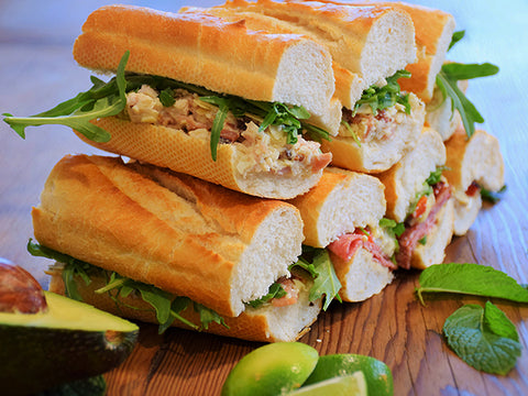 California Turkey Club Baguette