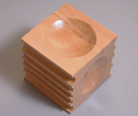 wood dapping cube 2.75  for metal forming made from hardwood. - Romazone