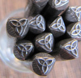 Celtic Knot, design stamp, jewelry stamping, 5mm x 5mm, made in the USA - Romazone