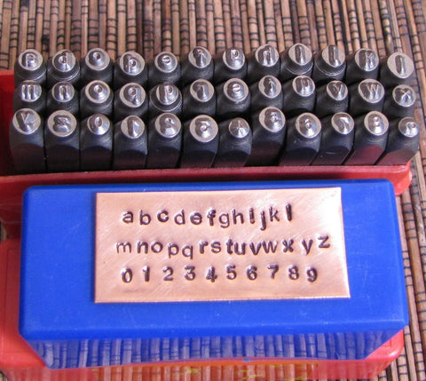 Arial lower case 2 mm, Exquisite quality letter number stamps Compare MINE to any others - Romazone