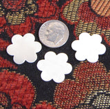 sterling flower daises, flower blanks, 3 pack, 3/4 inch, 22 gauge, for hand stamping jewelry - Romazone