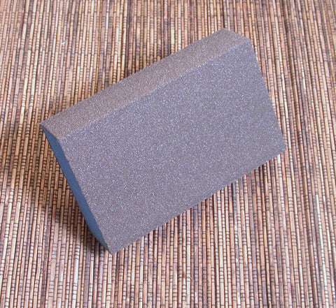 BIG Sanding Blocks, 2 pack,  3x5x1 inch, Fine Grit, with Slanted Edge, Long lasting - Romazone
