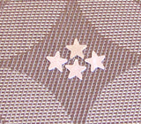 Baby Chubby Stars, 1/2 inch  Sterling Silver,  22 gauge,  perfect for rings, earrings  drops, 8 pack - Romazone