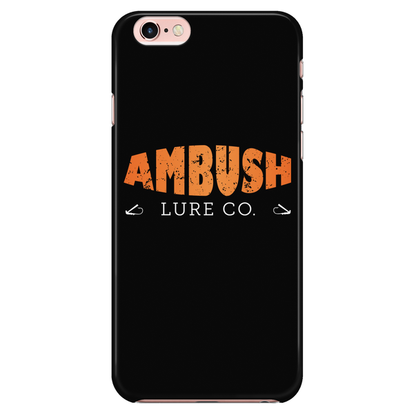 Ambush Lure Co Logo Iphone Case (6/6s, 6 plus/ 6s plus, 7/ 7s, 7plus)
