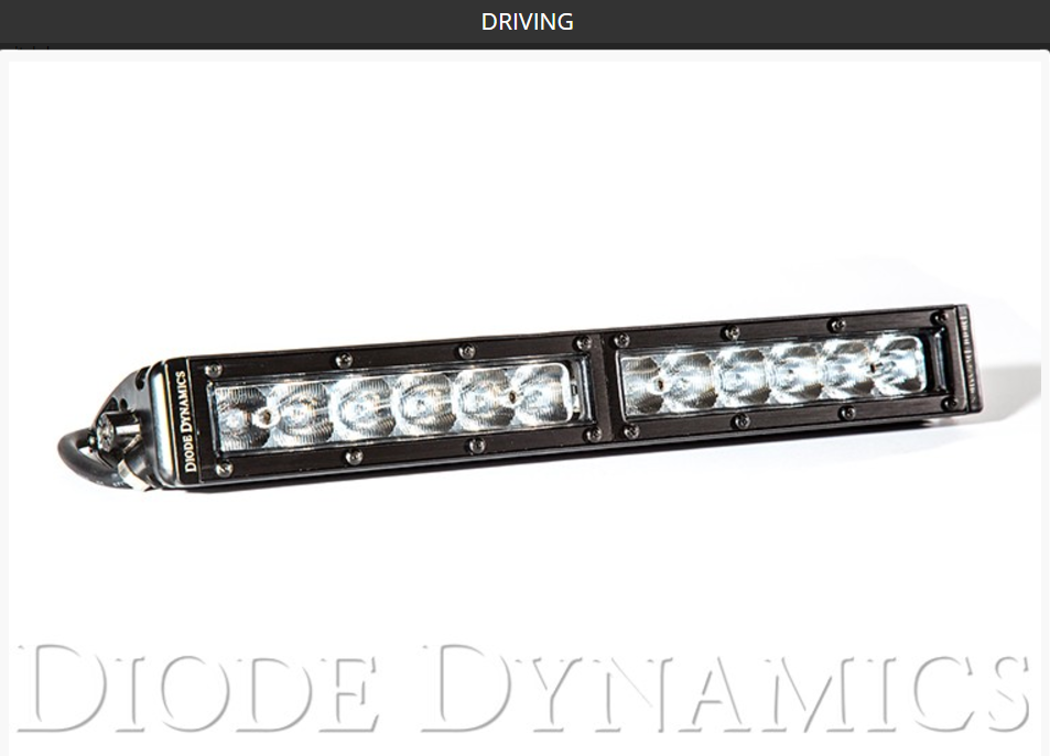 "SS12 Stage Series 12"" White Light Bar (one)"