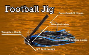 UV Football Jig