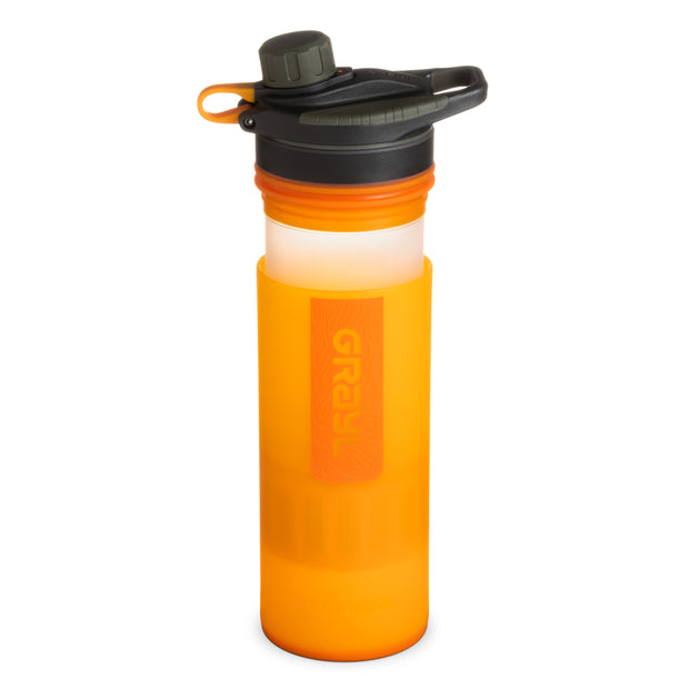 GRAYL® GEOPRESS™ Water Purifier Bottle | Pressing - Visibility Orange
