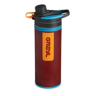 GRAYL® GeoPress® Water Filter & Purifier - Wanderer Red